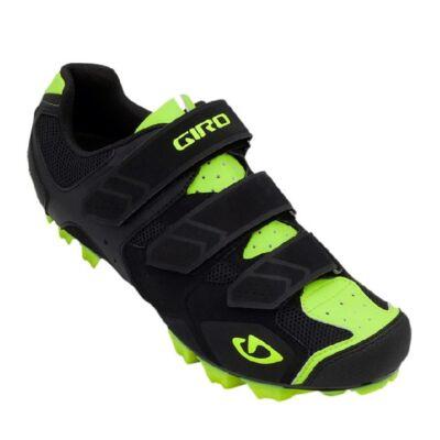 Giro Carbide mtb cipő black/highlight yellow